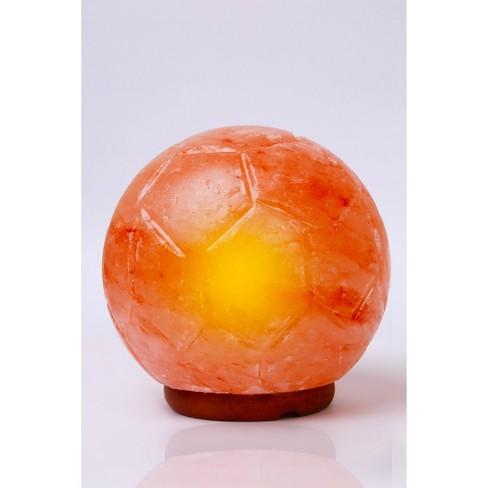 Soccer Ball Himalayan Salt Novelty Table Lamp - Q&A Himalayan Salt - image 1 of 4