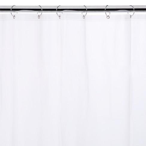 InterDesign Soft Touch EVA Shower Curtain Liner Target