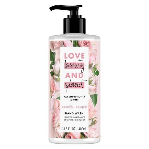 Love Beauty & Planet Murumuru Butter & Rose Bountiful Bouquet Hand Wash Soap - 13.5oz - image 1 of 4