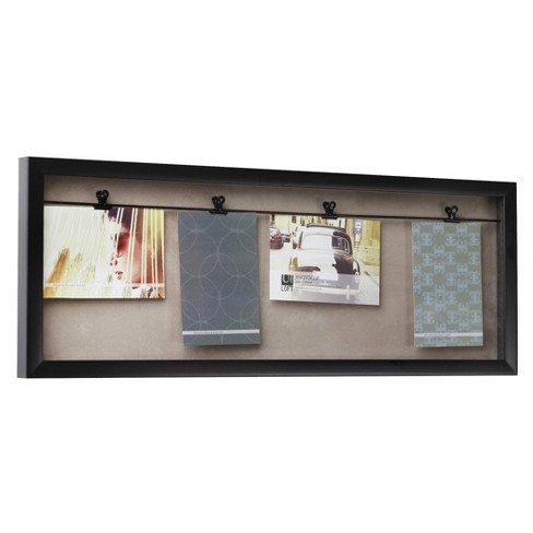 Loft By Umbra Horizontal 4 Clip Photo Line Frame Target