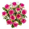 Colour Republic Pink Rose + Gypsophila Bouquet - image 2 of 4