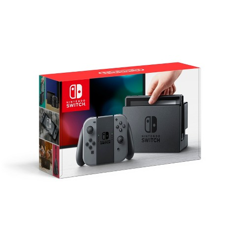 Nintendo Switch with Gray Joy-Con (Discontinued by Manufacturer) - image 1 of 4