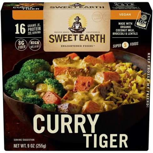 Sweet Earth Natural Foods Frozen Curry Tiger - 9oz - image 1 of 3