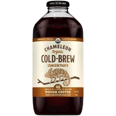 Chameleon Cold Brew Mocha Coffee Concentrate - 1qt