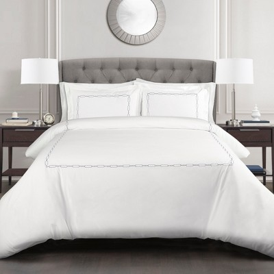 Hotel Geo Duvet Cover Set - Lush Décor