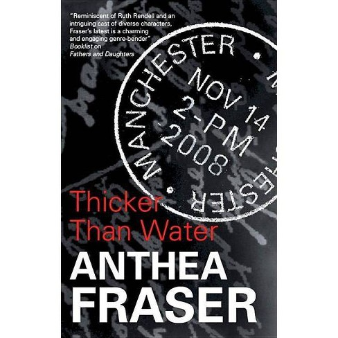 Thicker Than Water - (Severn House Large Print) by  Anthea Fraser (Hardcover) - image 1 of 1