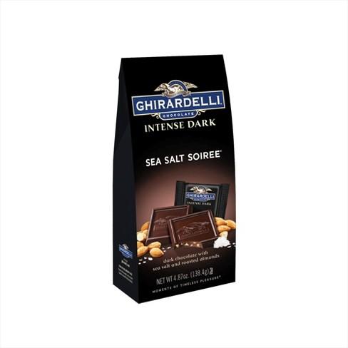 Ghirardelli Intense Dark Sea Salt Soiree Chocolate Squares - 4.87oz - image 1 of 3