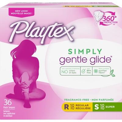 Tampons: Playtex Simply Gentle Glide