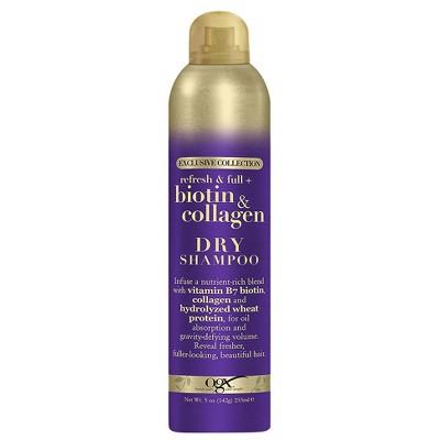 Dry Shampoo: OGX Biotin & Collagen