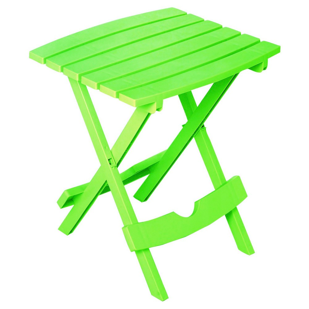 Image of Quick Fold Side Table Summer Green - Adams, Green Green