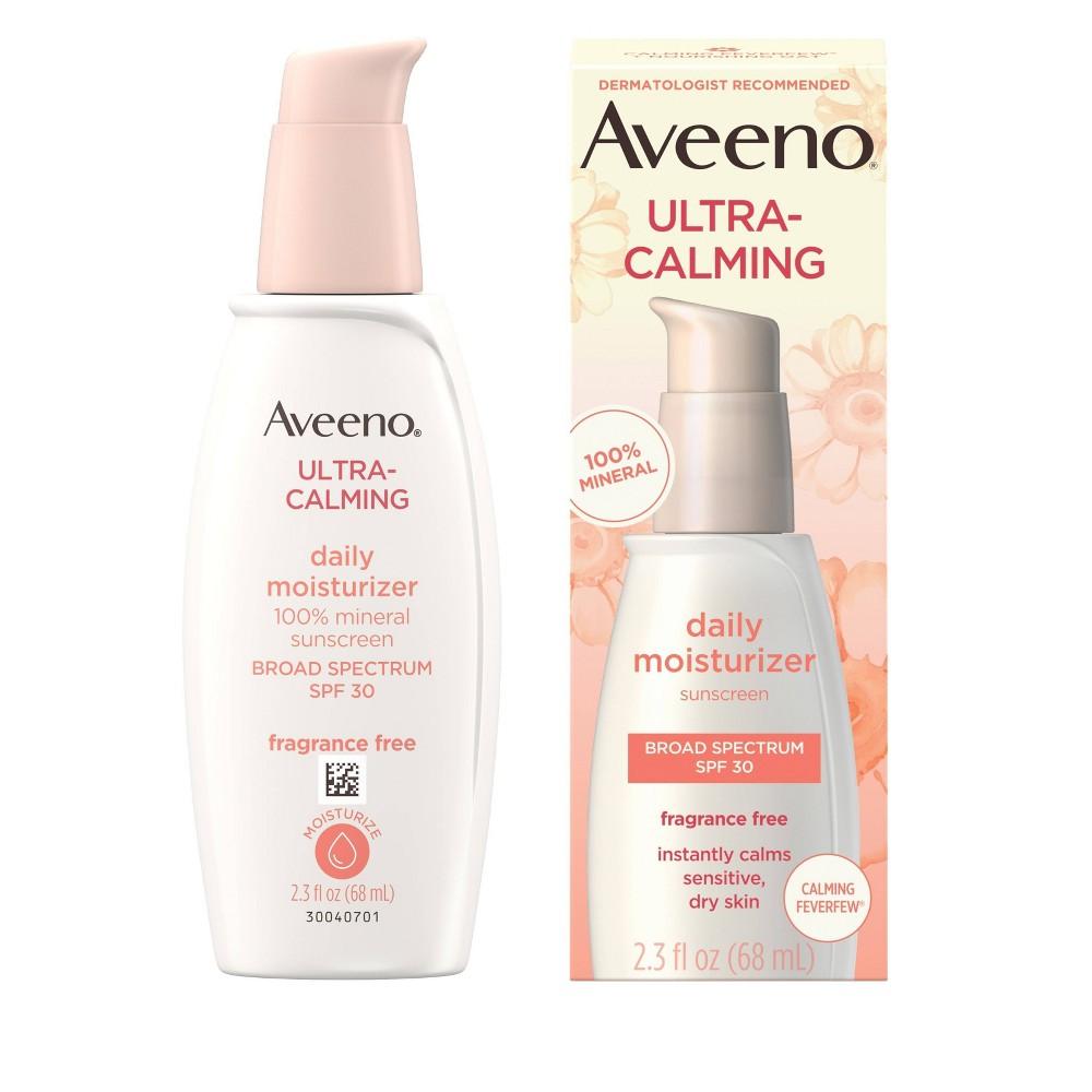 Image of Aveeno Ultra-Calming Daily Facial Moisturizer - SPF 30 - 2.3 fl oz
