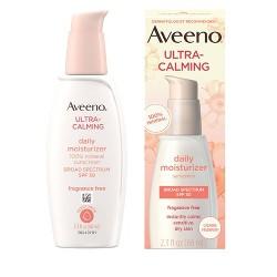 Aveeno Ultra-Calming Daily Facial Moisturizer -  SPF 30 - 2.3 fl oz
