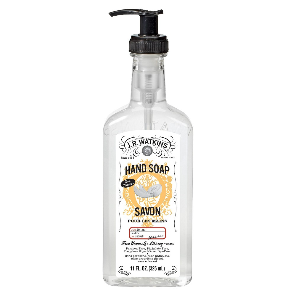J.R.Watkins Melon Hand Soap - 11oz