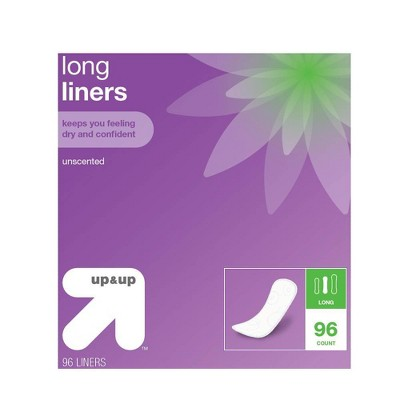 Panty Liners - Long - 96ct - up & up™