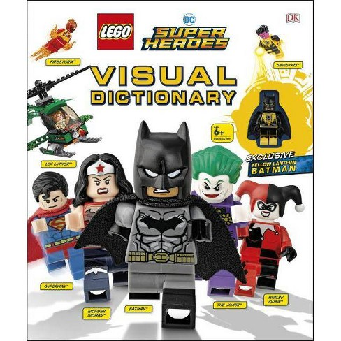 Lego DC Super Heroes Visual Dictionary - by  Elizabeth Dowsett & Arie Kaplan (Mixed media product) - image 1 of 1