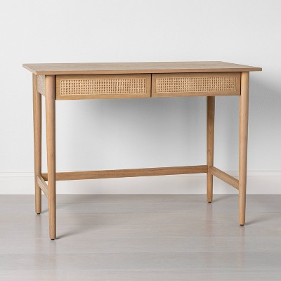 Wood & Cane Desk - Hearth & Hand™ with Magnolia