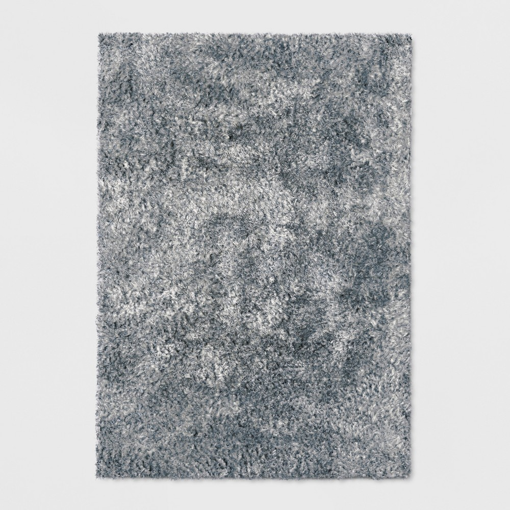 Gray Solid Tufted Area Rug 9'X12' - Project 62
