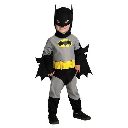 Halloween Batman Toddler Boy Costume 2T-4T, Men's, Size: Small, Black/Gray/Black