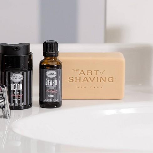 The Art Of Shaving Men's Sandalwood Body Soap Bar - 7oz
