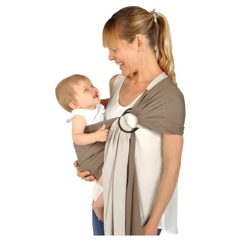 Balboa Baby Dr. Sears Reversible Jersey Sling - Mocha/Tan - image 1 of 3