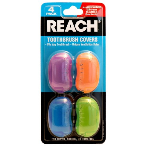 Reach Toothbrush Cover - Trial Size - 4ct - image 1 of 3