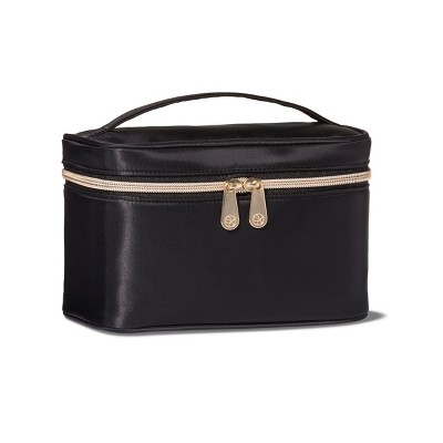 Sonia Kashuk Train Case Makeup Bag Set Black 2pc Target