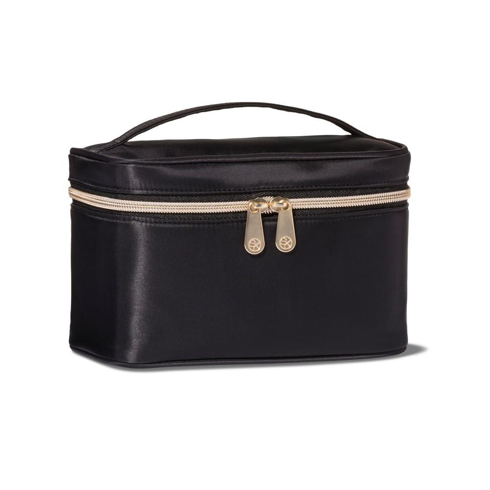 Sonia Kashuk 2pc Train Case Makeup Bag Set - Black