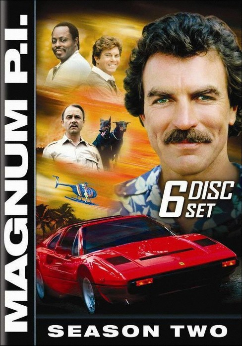 Magnum P.I.: The Complete Second Season (6 Discs) (dvd_video) - image 1 of 1