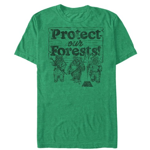 Star Wars Men's Ewok Protect Our Forests T-Shirt - image 1 of 1
