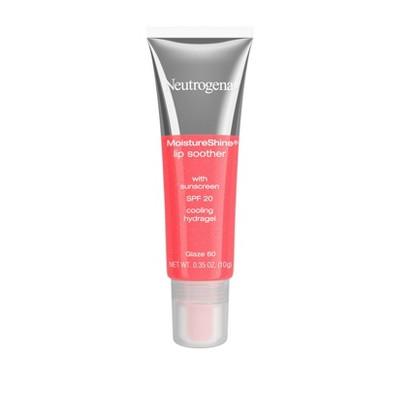 Neutrogena Lip Gloss Moisture Shine Lip Soothers SPF 20