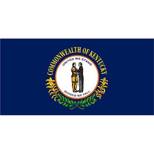 Halloween Kentucky State Flag - 4' x 6'