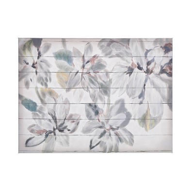 Wood Hand Painted Floral Pallet Art - StyleCraft