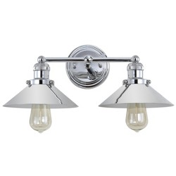 June Metal Vanity Wall Light - JONATHAN Y