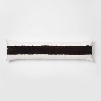 Lumbar Tufted Stripe Decorative Pillow Cream - Project 62™ + Nate Berkus™