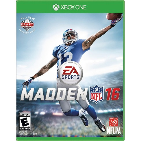 Madden NFL 16 Xbox One - image 1 of 12