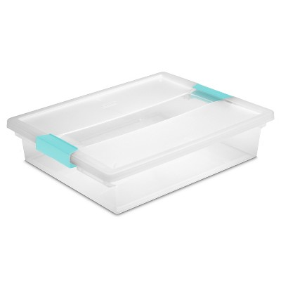 Large Clip Storage Box Clear - Sterilite