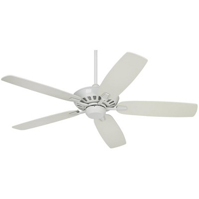 "52"" Casa Vieja Modern Ceiling Fan with Remote Control White for Living Room Kitchen Bedroom Family Dining"