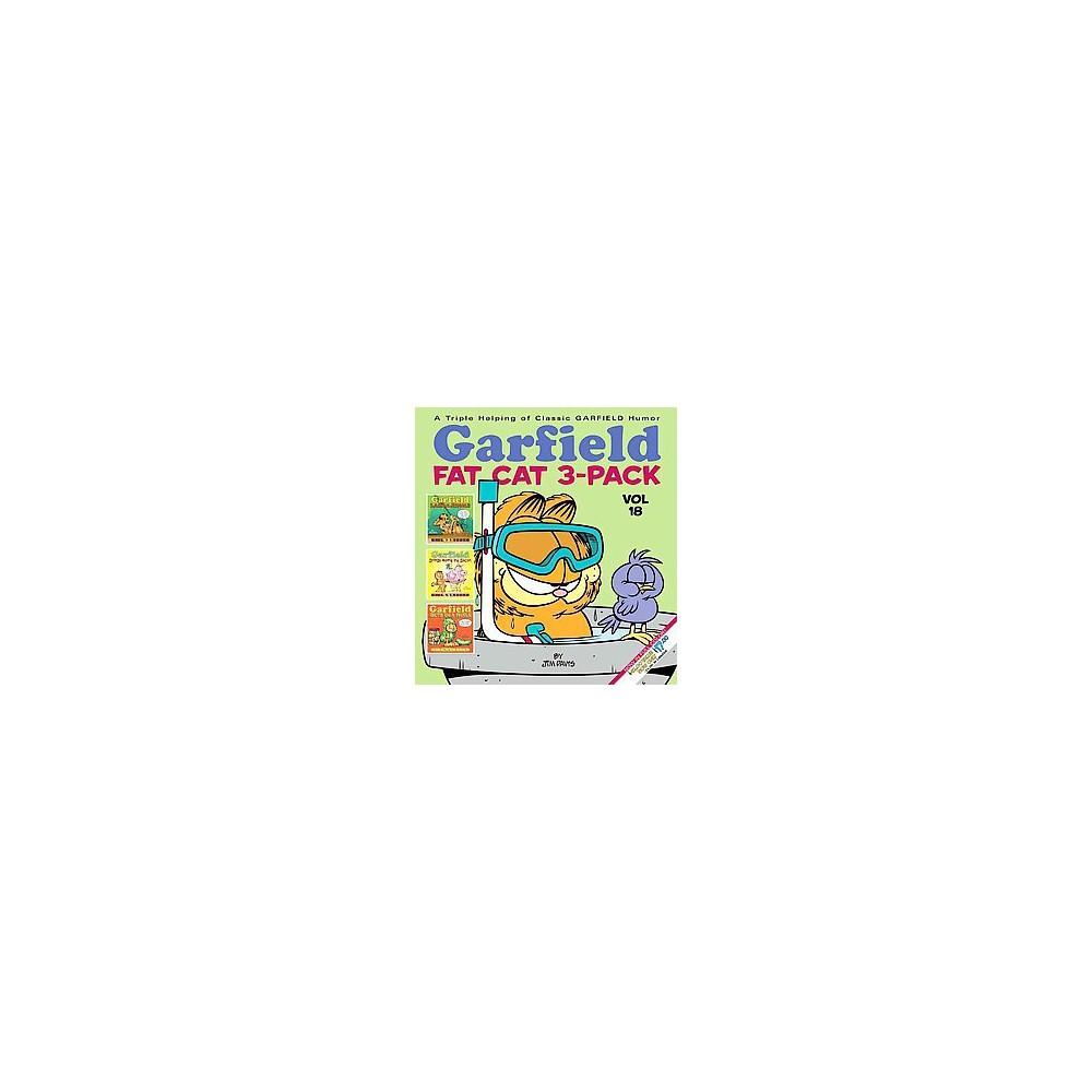 Garfield Fat Cat 3-pack (Combined) (Paperback) (Jim Davis)