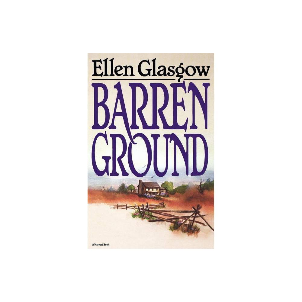 Barren Ground By Ellen Glasgow Paperback