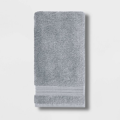 Spa Hand Towel Light Gray - Threshold Signature™