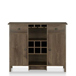 Cecilia Wine Cabinet Walnut - miBasics