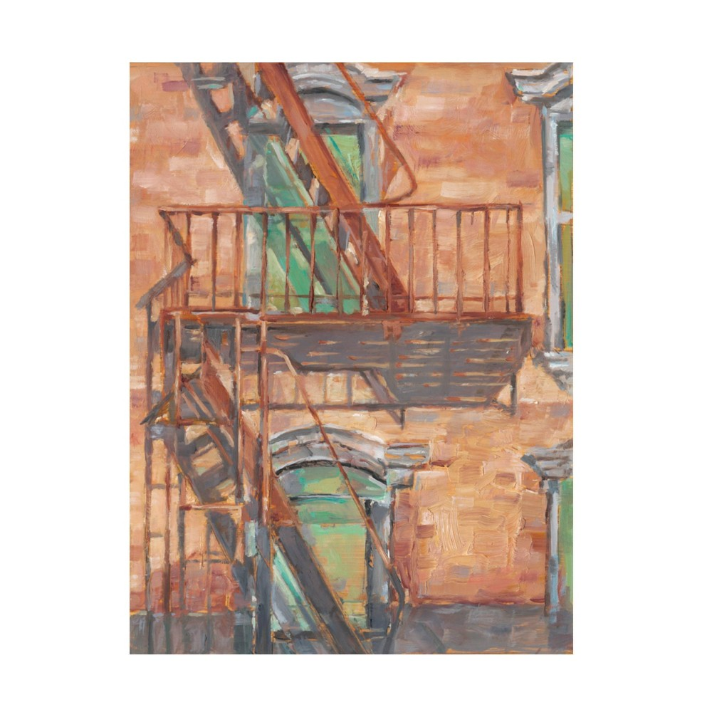 18 34 X 24 34 Ethan Harper 39 Urban Facade Ii 39 Unframed Wall Canvas Trademark Fine Art