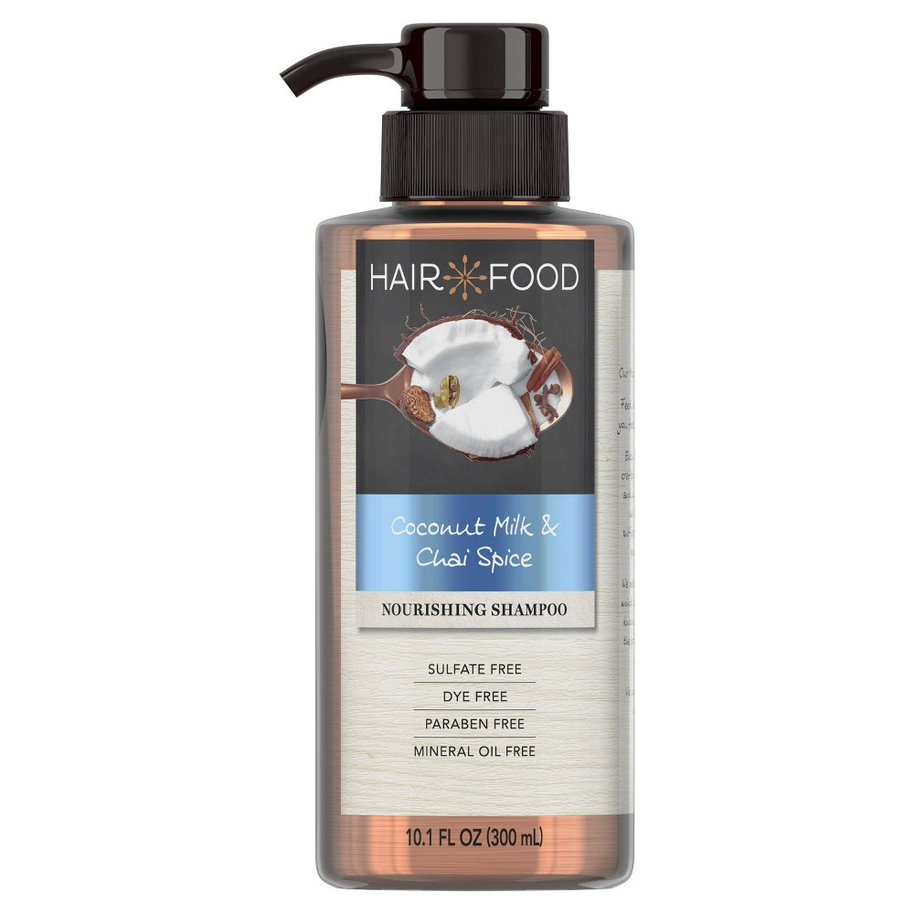 Image of Hair Food Coconut & Chai Spice Sulfate Free and Dye Free Nourishing Shampoo - 10.1 fl oz