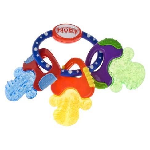 Nuby Ice Gel Baby Teether Keys Assorted Colors Target