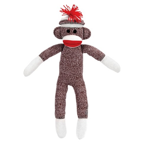 Schylling Sock Monkey Stuffed Animal - image 1 of 1