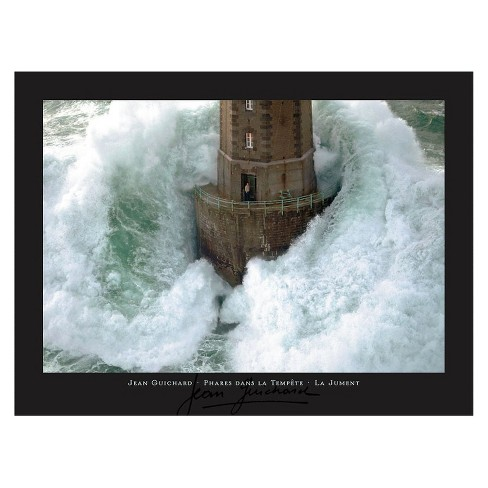 Art.com - Lighthouse in a Storm Art Print - image 1 of 2
