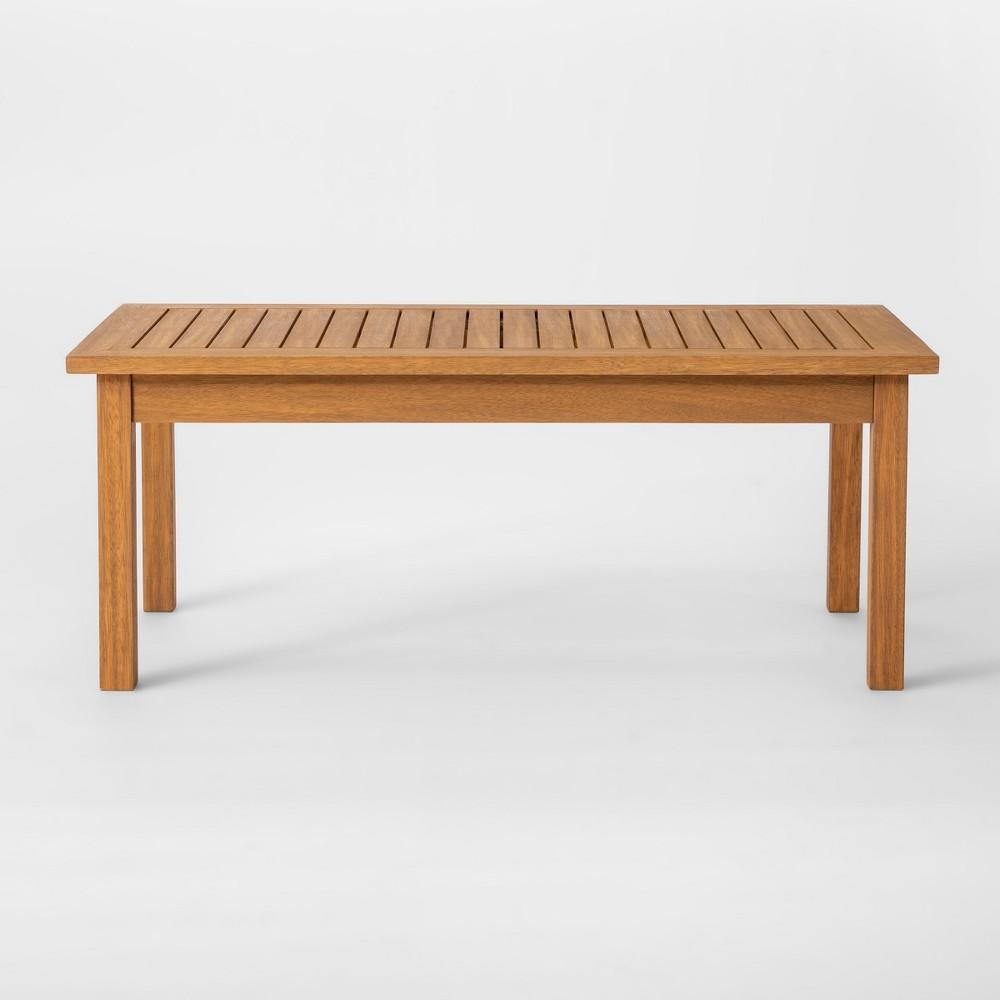 Chesapeake Wood Patio Coffee Table - Threshold