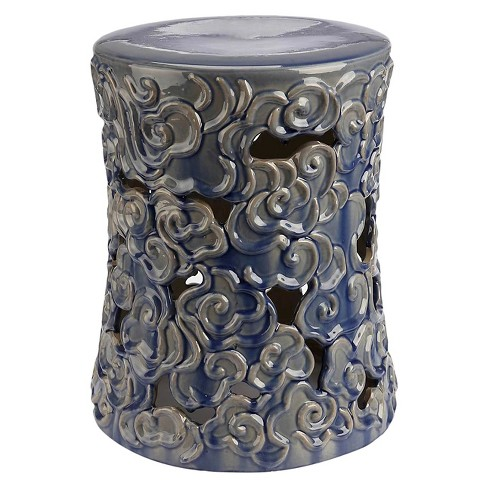 Osla Ceramic Garden Stool - Abbyson Living - image 1 of 3
