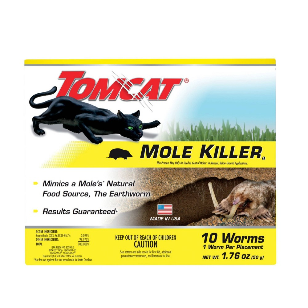 Image of Tomcat Mole Killer, pesticides