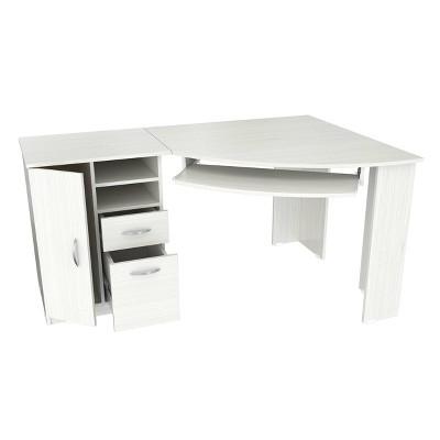 Corner Computer Desk Washed Oak - Inval